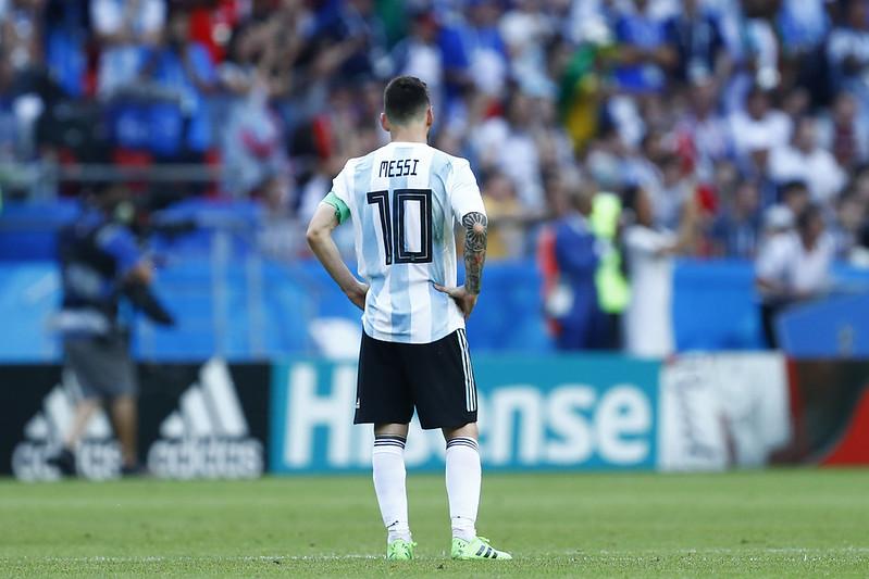 Lionel Messi將面臨足球生涯的交叉點。(AFP授權)