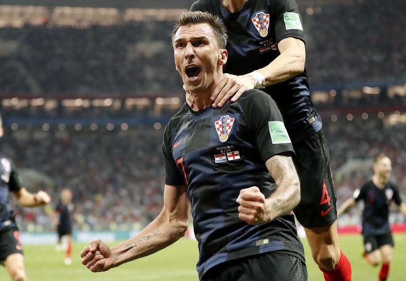 克羅埃西亞Mario Mandzukic延長賽踢進致勝球。(達志影像)