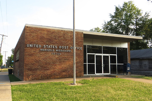 Merigold, MS post office | by PMCC Post Office Photos
