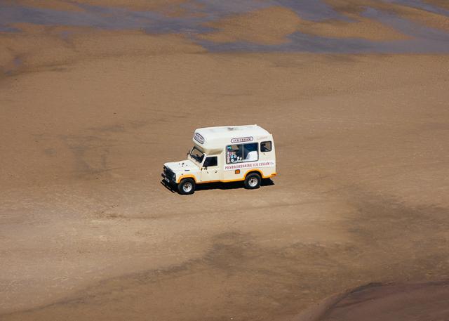 pembrokeshire ice cream van