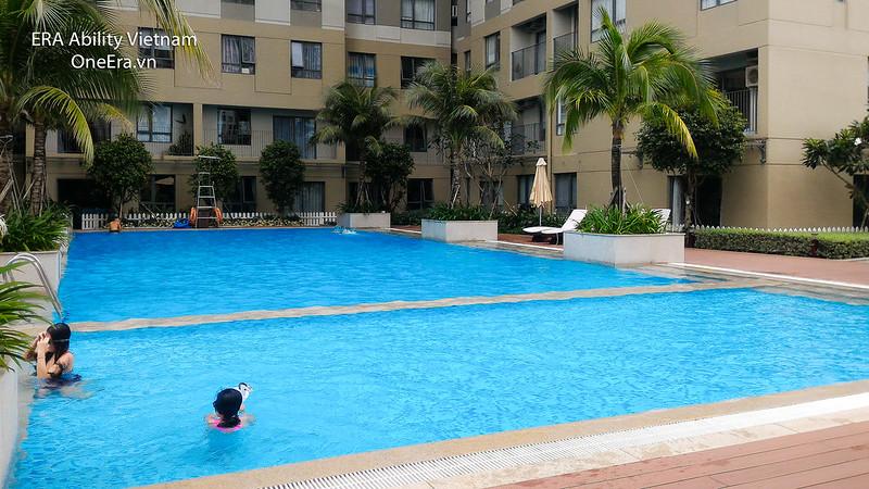 Hồ bơi T3 Masteri 2