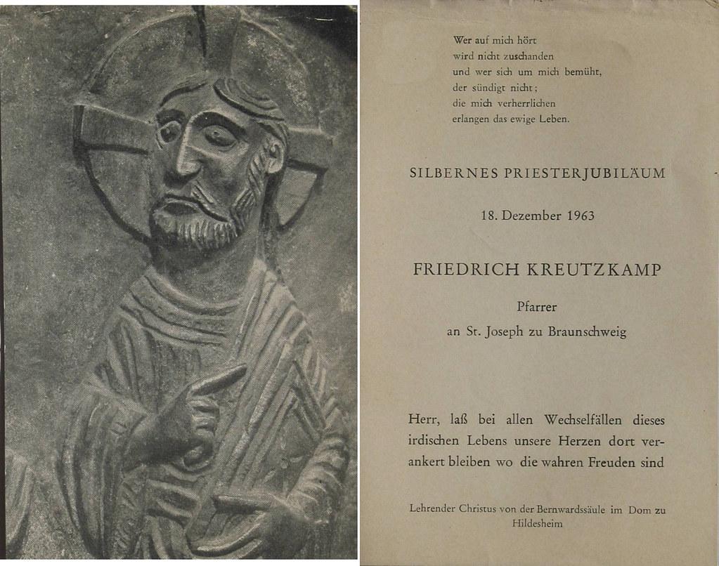 Priesterweihe Kreutzkamp, Friedrich 18.12.1938