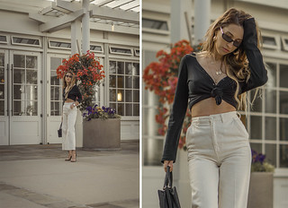high_waisted_wide_white_jeans_clear_shoes_heels_street_style_outfit_fashion_blogger_vintage_lena_juice_the_white_ocean_10 | by Lena Juice