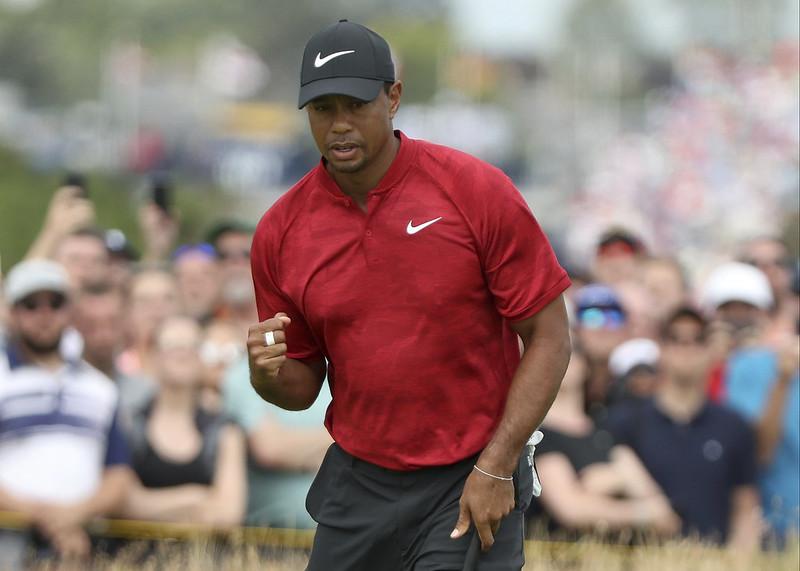 眾人都期待Tiger Woods能打出好成績。(達志影像資料照)