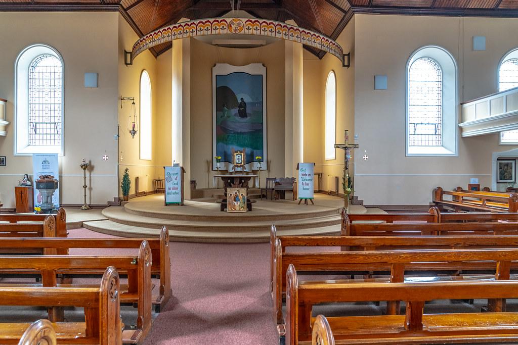 BALLYBRICKEN CHURCH IN WATERFORD CITY - JULY 2018