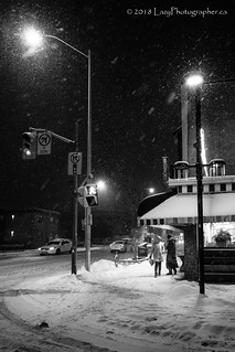 Snowy Night | by The Lazy Photographr