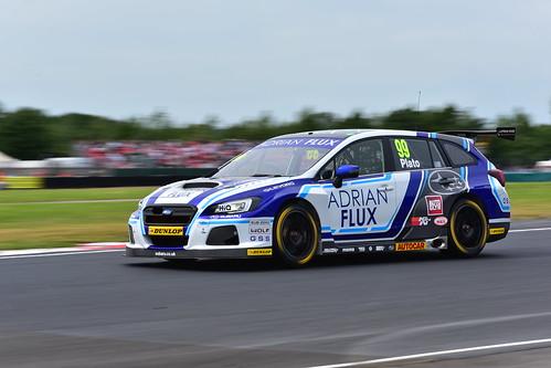 Jason Plato, Subaru Levorg GT, British Touring Car Championship, Croft 2018