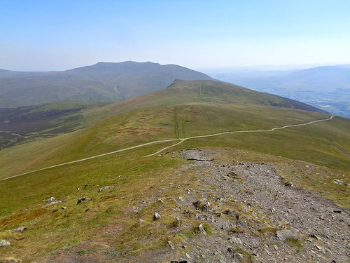 Lonscale Fell and Blencathra from Jenkin Hill