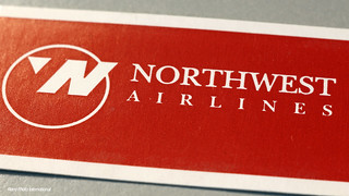 Northwest Airlines Tag | by Retro Photo International