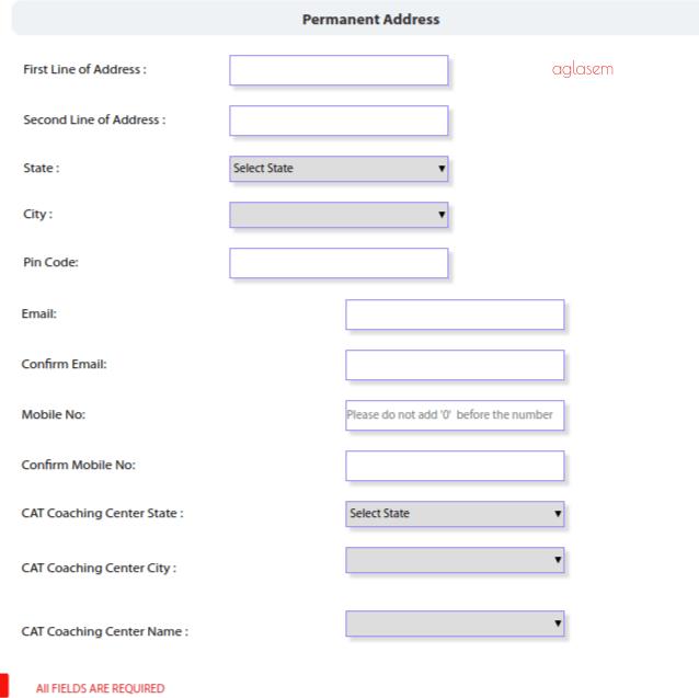 IBSAT 2018 Application form