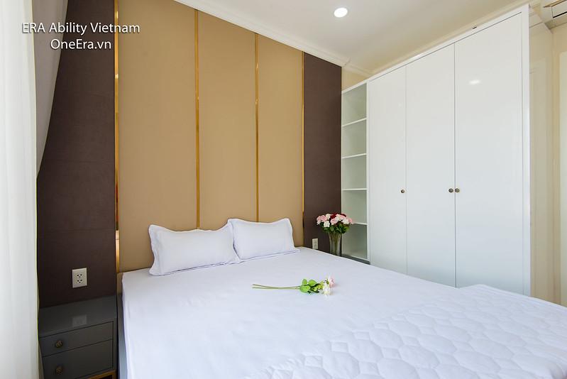 phòng ngủ Masteri Thảo Điền thiết kế trang nhã