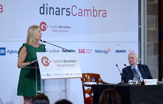 Dinar Cambra amb Neus Munté, 11/07/18 | by Press Cambrabcn