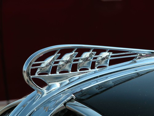 Plymouth Hood Ornament Supercruise Sponsored