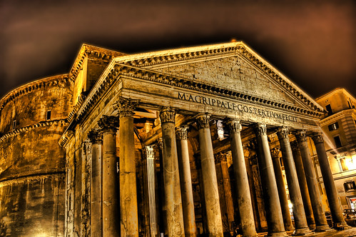 Pantheon by Night | by Stuck in Customs