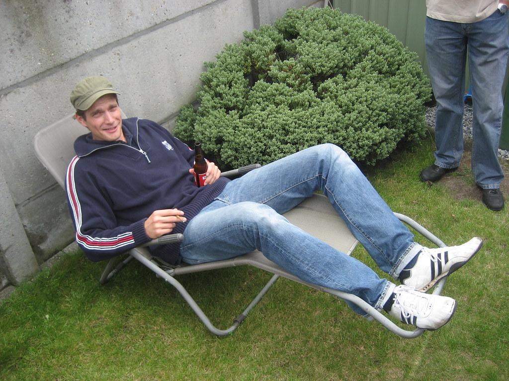 Ward in de luie stoel kars alfrink flickr for Luie stoel