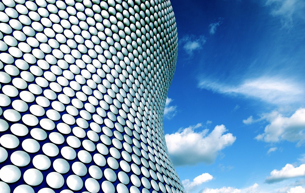 windows 7 wallpapers architecture: Bullring In Birmingham