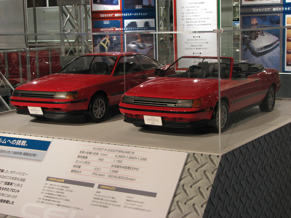 1985 toyota celica models at history garage megaweb toky. Black Bedroom Furniture Sets. Home Design Ideas