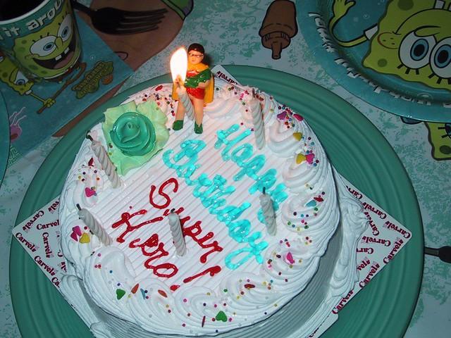 Spongebob Ice Cream Cake Carvel