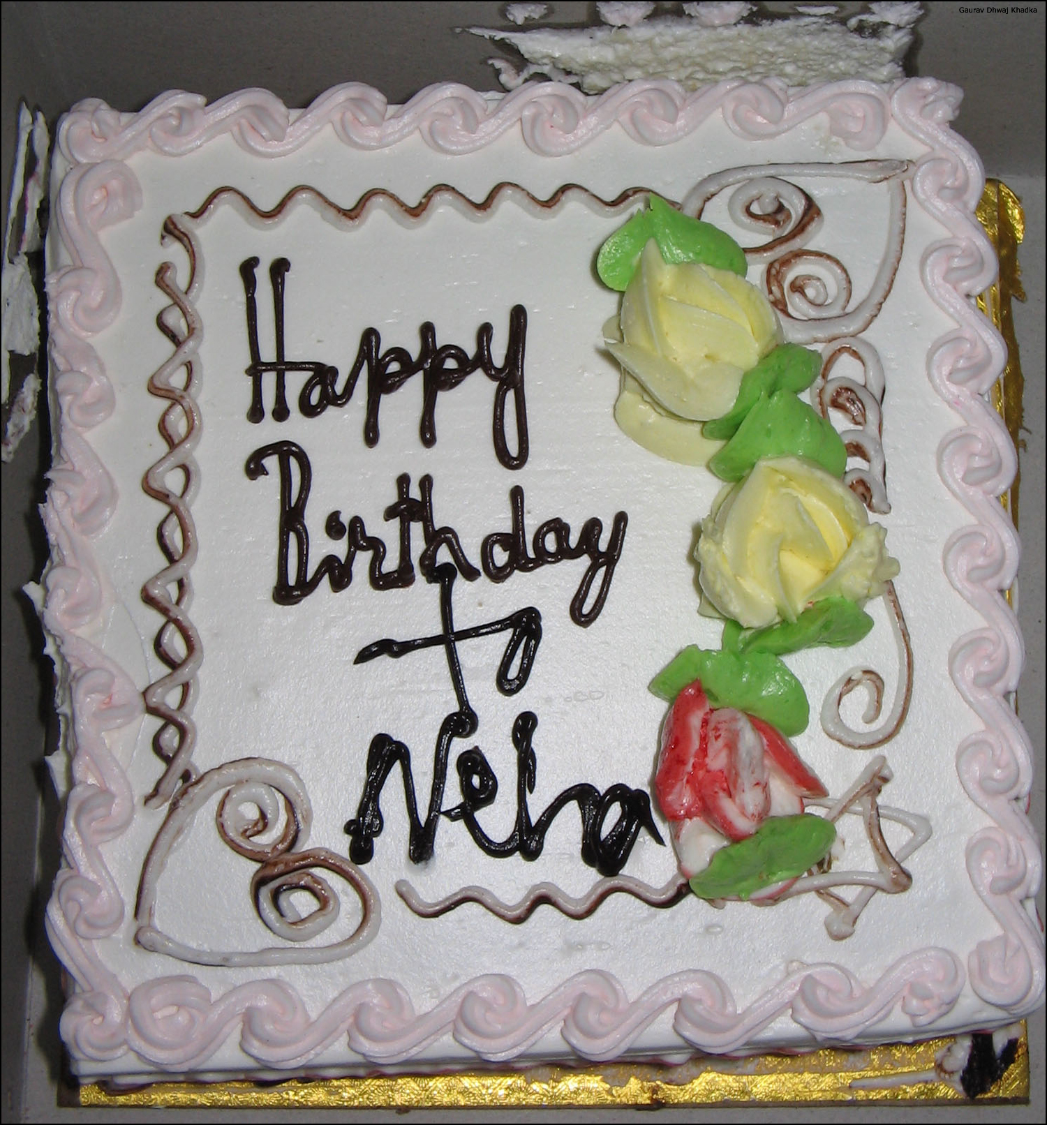 all sizes neha birthday cake flickr photo sharing on birthday cake name of neha