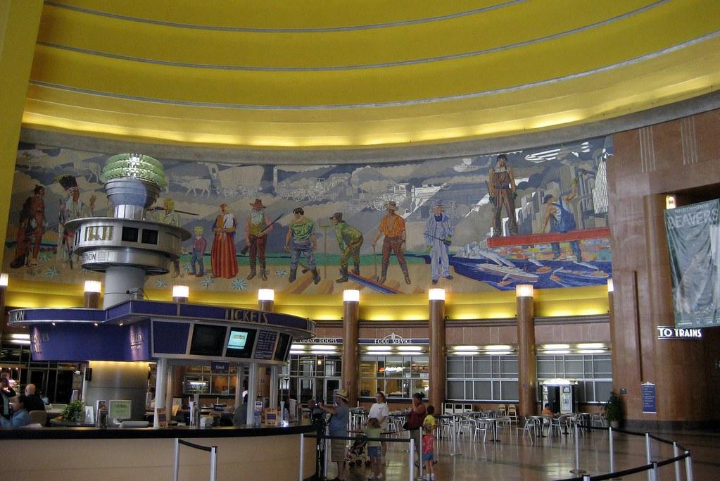 Cincinnati Union Terminal Rotunda Originally Built