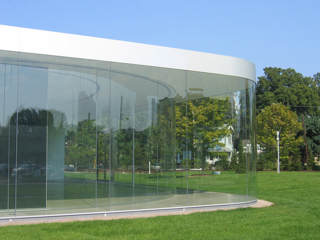 an almost seamless glass museum news archinect. Black Bedroom Furniture Sets. Home Design Ideas