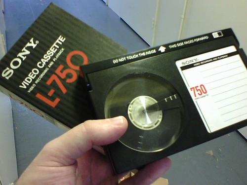 Beta video cassette | by Lawrence Leonard Gilbert