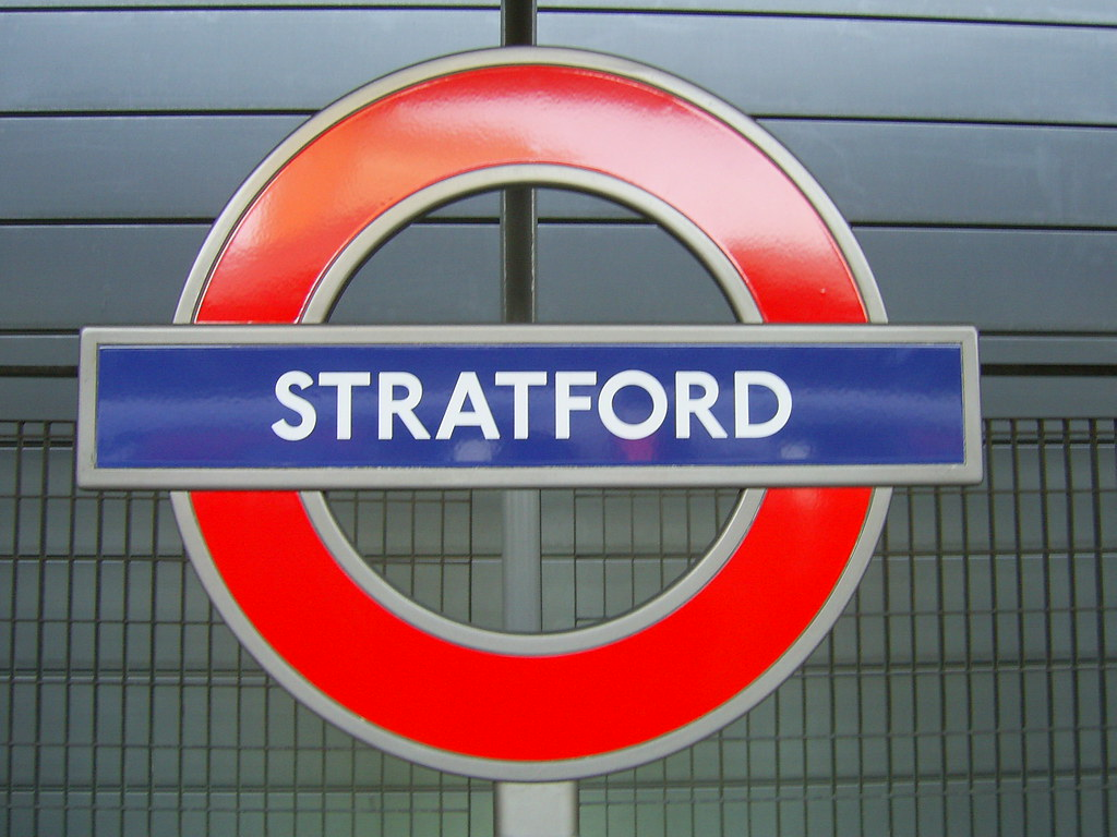 Stratford station, Jubilee line : Richard and Gill Long ...