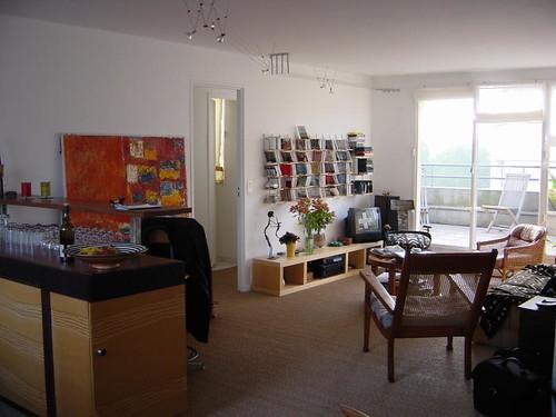 Salon et cuisine salon et cuisine de l 39 appartement de la for Salon et cuisine
