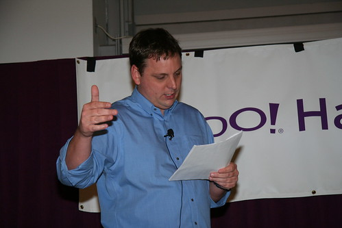The inimitable Michael Arrington | by Yahoo Inc