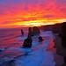 sunset 12 apostles, shipwreck coast, great ocean road victoria