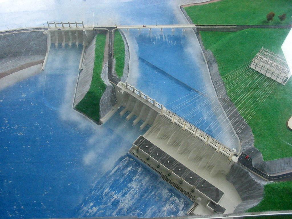 Model of Mactaquac Dam | Chris Campbell | Flickr