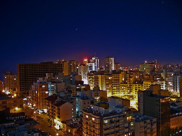 Mar Del Plata De Noche Mar Del Plata Es Una Ciudad