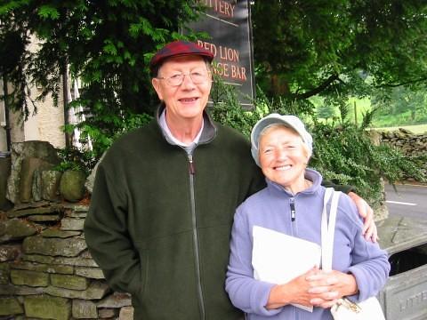 [Grasmere]可愛的老夫婦