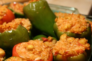 Stuffed peppers | by sfllaw