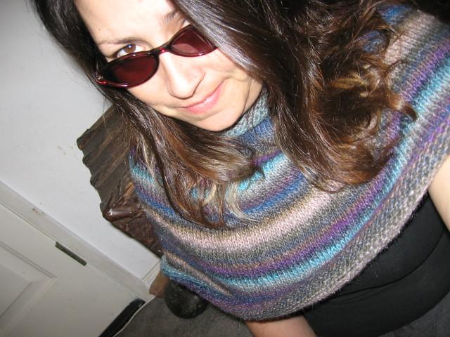 Knitting Pattern Essentials By Sally Melville : KnitRoundScarf Noro Silk Garden Pattern by Sally ...