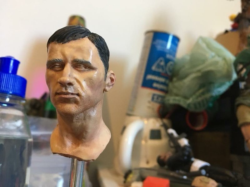 [WIP] First Tony Barton head sculpt repaint. 28434580067_6b12238b11_c