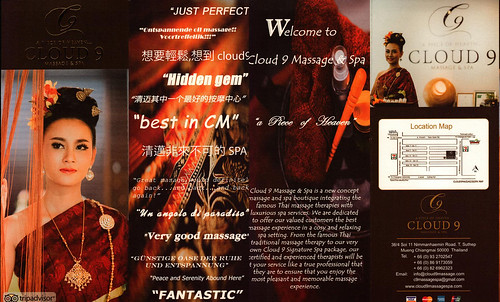 Brochure Cloud 9 Massage & Spa Chiang Mai Thailand 1
