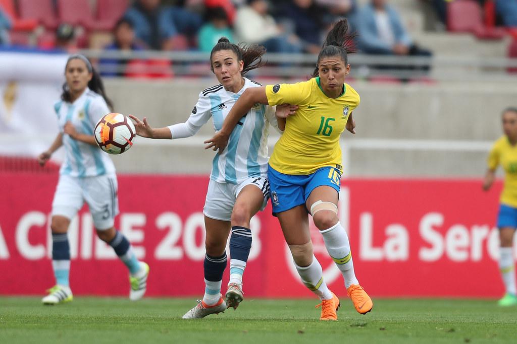 ... Brasil x Argentina pela Copa América Feminina. Lucas Figueiredo CBF  e00d2b9e17c10