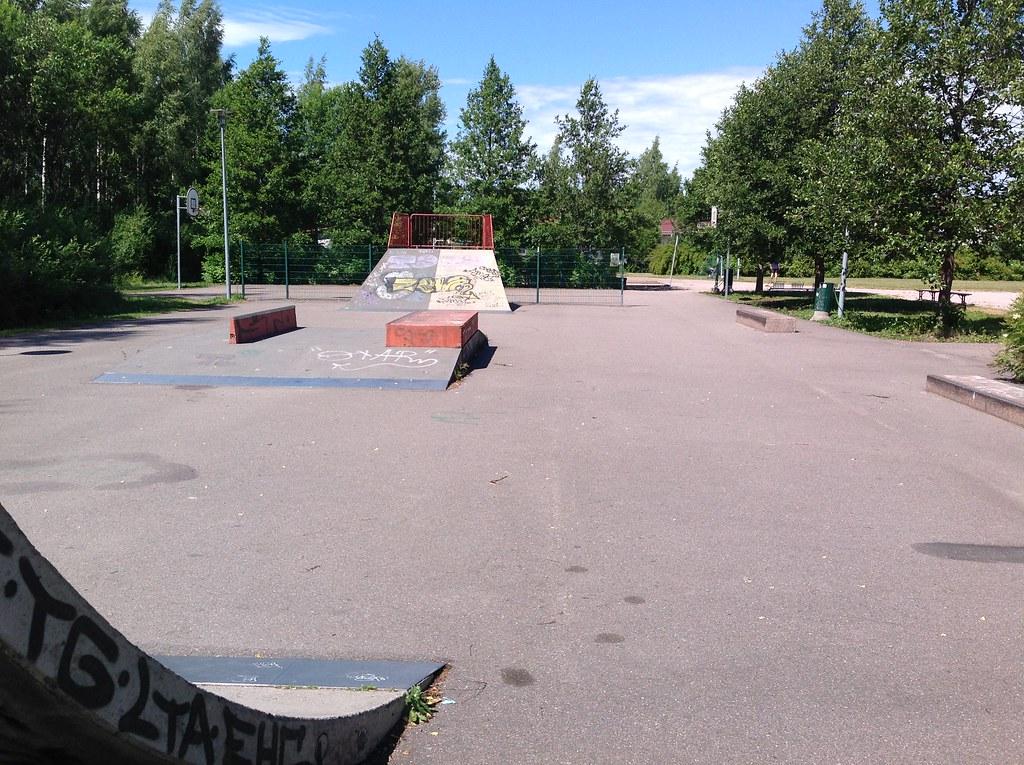 Kuva toimipisteestä: Pisanpuisto / Skeittipaikka (Latokaski)