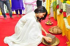 NagaChaitanya Samanatha New Movie Opening Stills