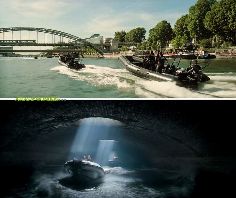 Boats tunnel