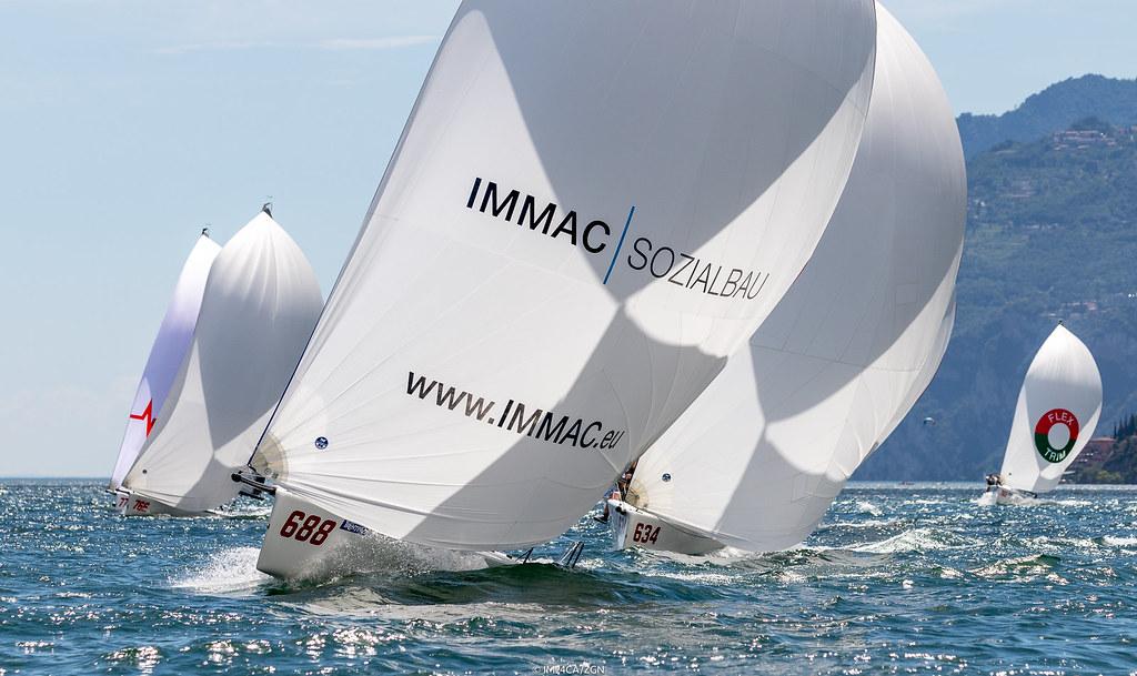 4746a9010ef95e ... 2018 - Torbole - Melges 24 European Sailing Series Day 1