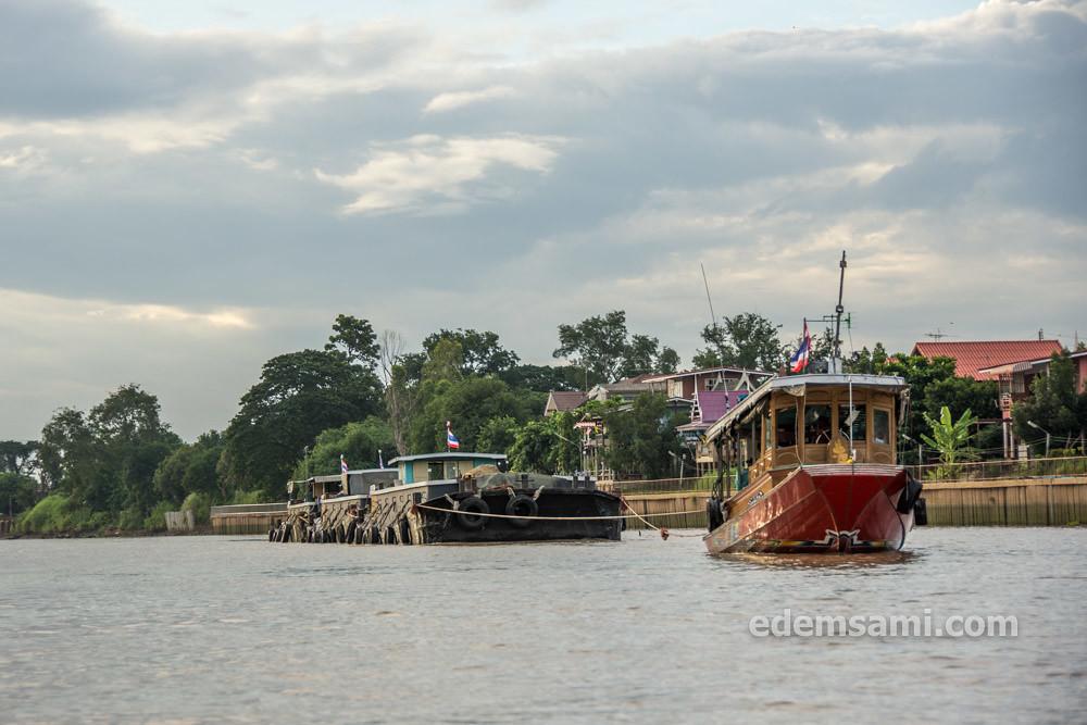 На лодке по Аюттхае