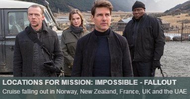 Where was Mission Impossible Fallout filmed