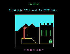 Tatung Einstein Master Disc: Hangman | by Deep Fried Brains
