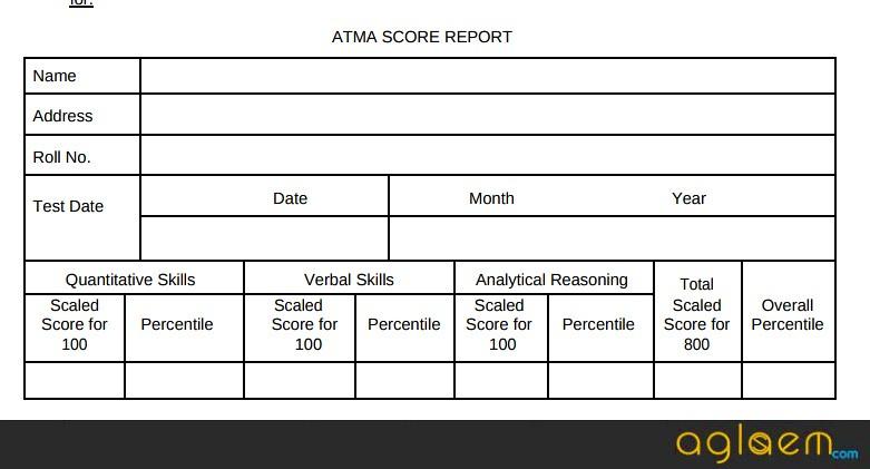 ATMA Result 2018