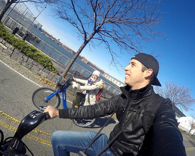 Una ruta en bicicleta por el Hudson, de las excursiones más recomendadas que hacer en Nueva York