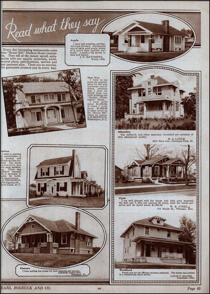 1925 Sears Modern Homes | Testimonials | Daily Bungalow | Flickr