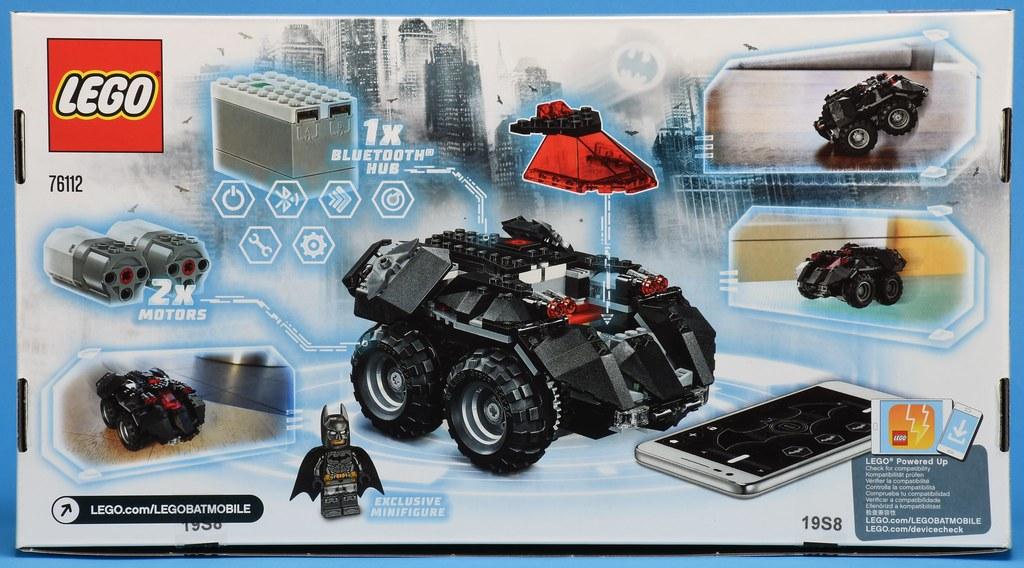 LEGO DC Comics Super Heroes 76112 App-Controlled Batmobile