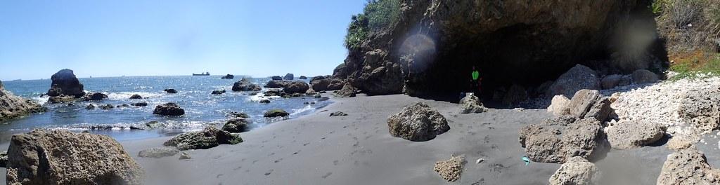 淤沙的柴山潮池